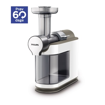 Philips Slow Juicer 1830 : Philips slowjuicer Husholdningsapparater